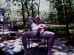 A Backyard Wank