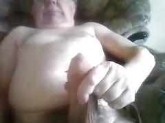 big cock grandpa stroke on cam