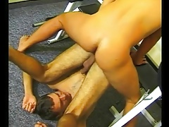Horny Fuck in Gym