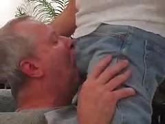 Moustache Daddy bear blowjob 3