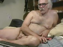 Gramps Naked on Cam