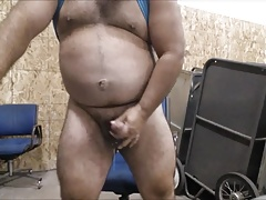 Daddy shoot his load