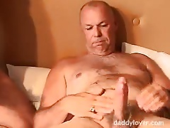 Mature Gay Threesome - Pt.2