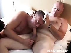 Mature Gay Threesome - Pt.1