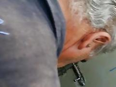 Amateur Suck in Bathroom