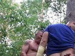 cruising...horny stranger of forest 2