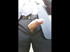 Daddy Twice Cumshot in the Office