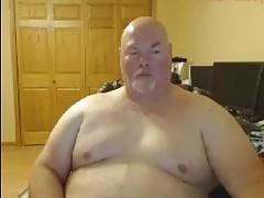 Big Man Jerks and Cums