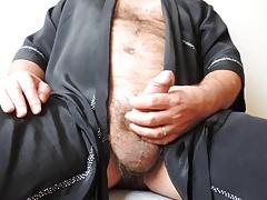 Hairy Mature Masturbation until Cumshot