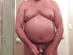 Daddy wanks on cam