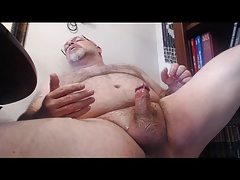 Masturbating and Licking Cum