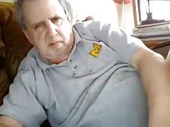 Grandpa has a fat cock