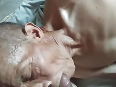 asian old grandpa