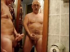 Old Man Cumshot Compilation