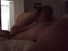 Hot Daddy  eat eating my ass. Dirty talk