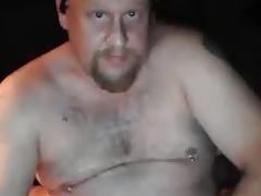 Hot married daddy wanking