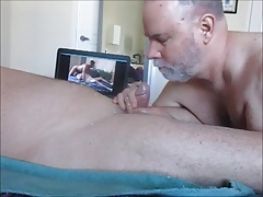 Farmer K's Christmas Cock Cum.  OralistDan Video 218