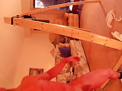 Payne Moore audition a rip and strip  20 year old bbuilder