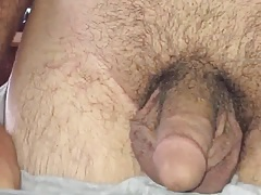 Horny young bear showing you his cock and ass