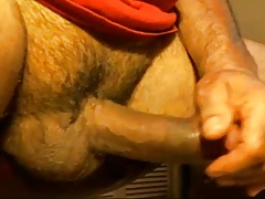 LATINO DADDY FLESHLIGHT JACK OFF AND CUM
