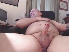Garrett Cums on Webcam