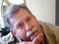 moustache daddy bear blowjob