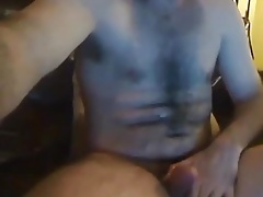 Very hot bear jerking off