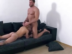 Big strong guy fucks a small guys ass