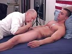 hungry daddy devours straight marine boy