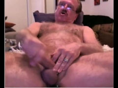 Old cum on cam 5