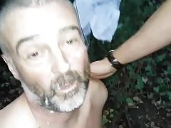 Rude in the woods