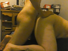 getting fucked hard bareback by 18yo stud