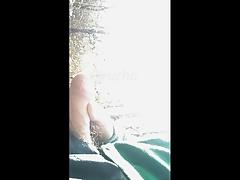 Cruising mamada en el bosque