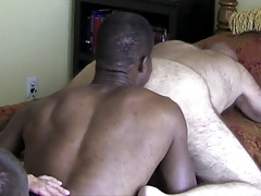 Ronnie Fucked by Two Men