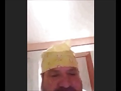 perfect crazy spanish bear horny wanking and cumming