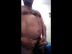 Hung horny bear