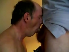 Two men playing with each other