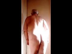naked hairy bear