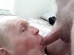 Grandpa with a cock