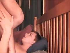 Boy begging for Daddy dick inside him