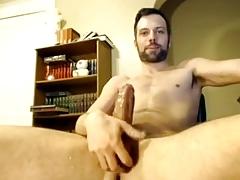 Daddy big cock cumshot