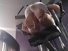 White skins at the gym