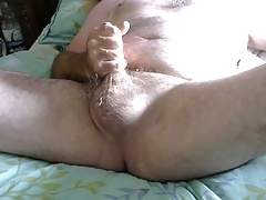 after a sunny day in garden wank
