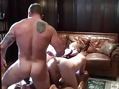 Daddy fuck His twinks