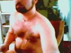 Handsome Dad Masturbating