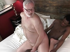 Old Daddy Fucks Young Black