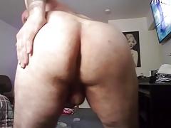 Massaging my ass