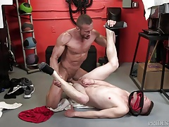 DylanLucas Twink Caught Sniffing Daddys Jock