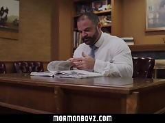 MormonBoyz-Young boy breeding older daddy