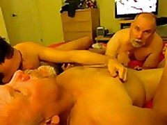 Taboo 3Way With Pervy N ephew and Two U ncles.